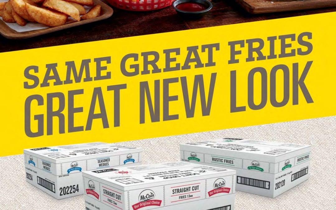 McCain New Packaging Brochure