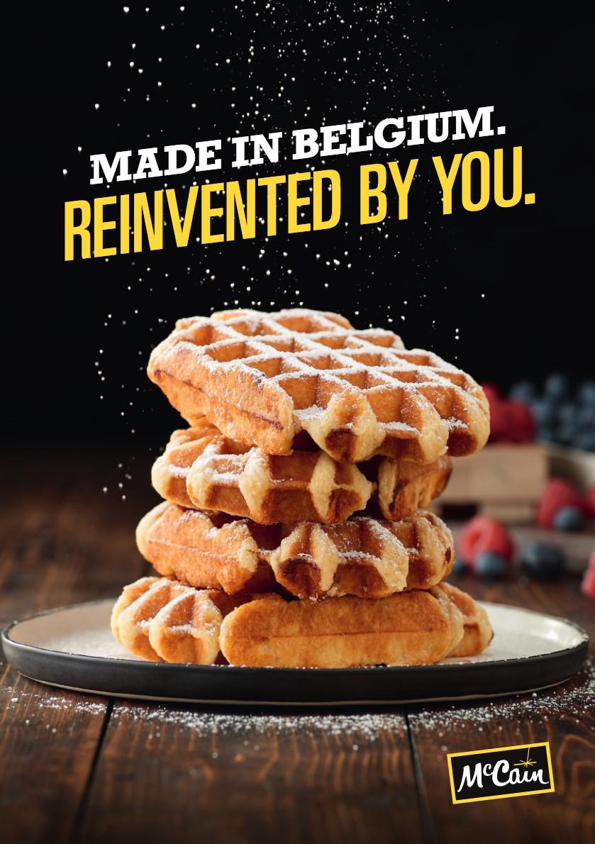 Belgian Liege Waffles Brochure