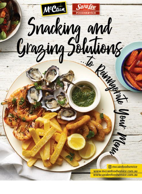 Pubs & Clubs Magazine – Snacking and Grazing Solutions