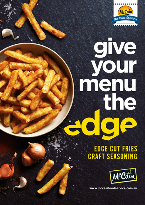 Edge Cut Fries Craft Seasoning Brochure