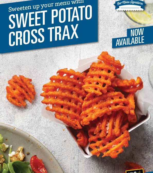 McCain Sweet Potato Cross Trax brochure