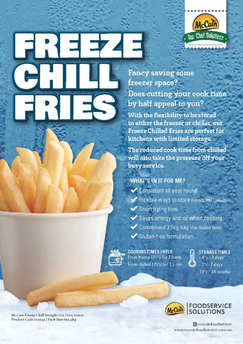 McCain Freeze Chill Fries